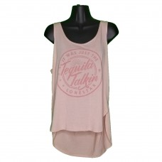 Women's Peach Tequila Talkin' Tank Top